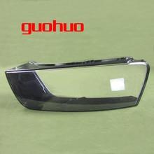 For Audi Q3 16-17 Headlight Plastic Transparent Shade Shell Lampshade Headlamp Cover 1PCS