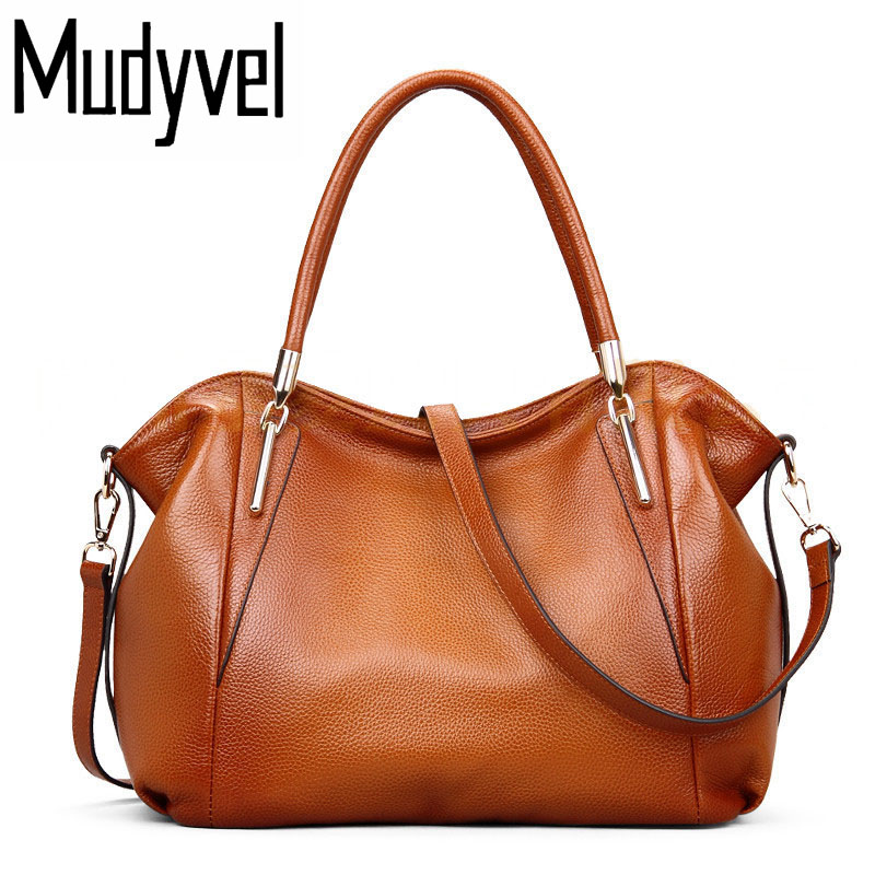 все цены на New luxury handbags women bags designer soft cow leather shoulder bags fashion high-capacity genuine leather woman bag tote bag