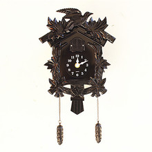 European cuckoo clock swing music creative wall clock time pastoral living room children room cuckoo clock clock watches Decorat