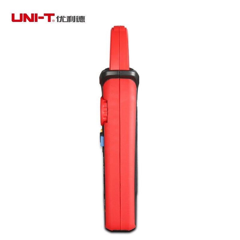 UNI T ut211a/ut211b amperímetro ac/dc 60a mini digital braçadeira medidores de diodo ohm verdadeiro rms amperímetro vfc/ncv/resistência/teste de capacitância - 4