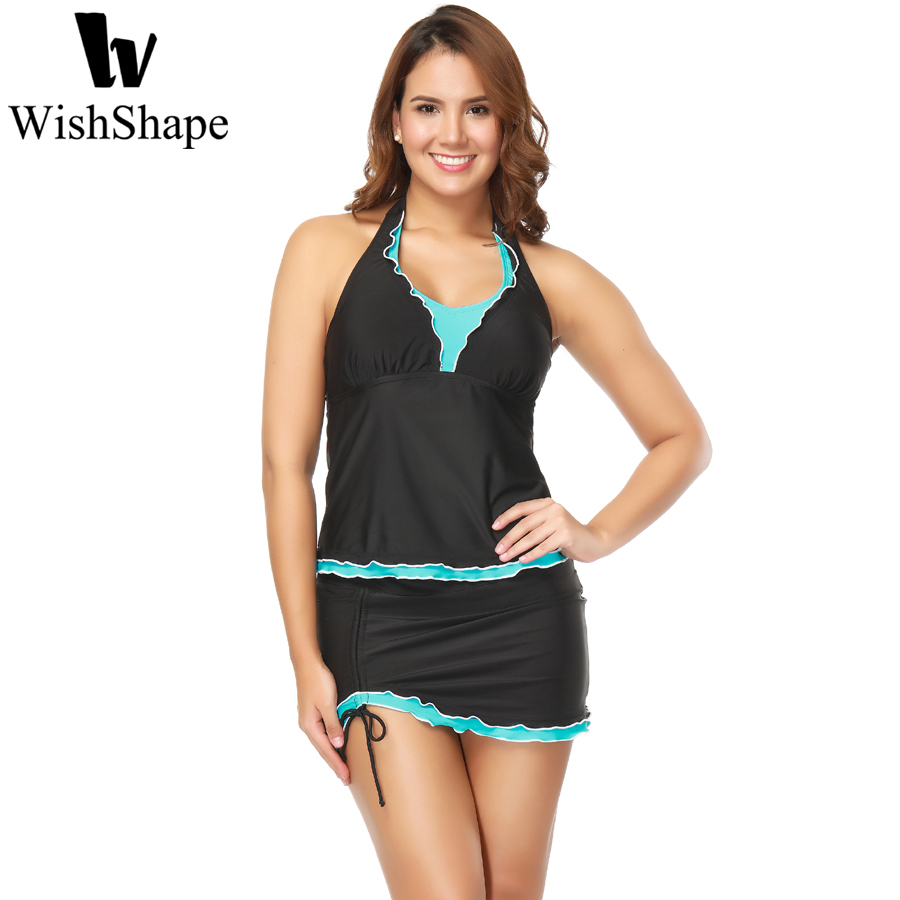 2018 Swimwear Women Sexy One Piece Black V Neck Swimsuit Push Up Patchwork Bathing Swim Suit Dresses Bodysuit Plus Size XXL 3XL 2017 plus size swimwear women swimming dress sexy large one piece swimsuit push up beach dress patchwork bathing suit