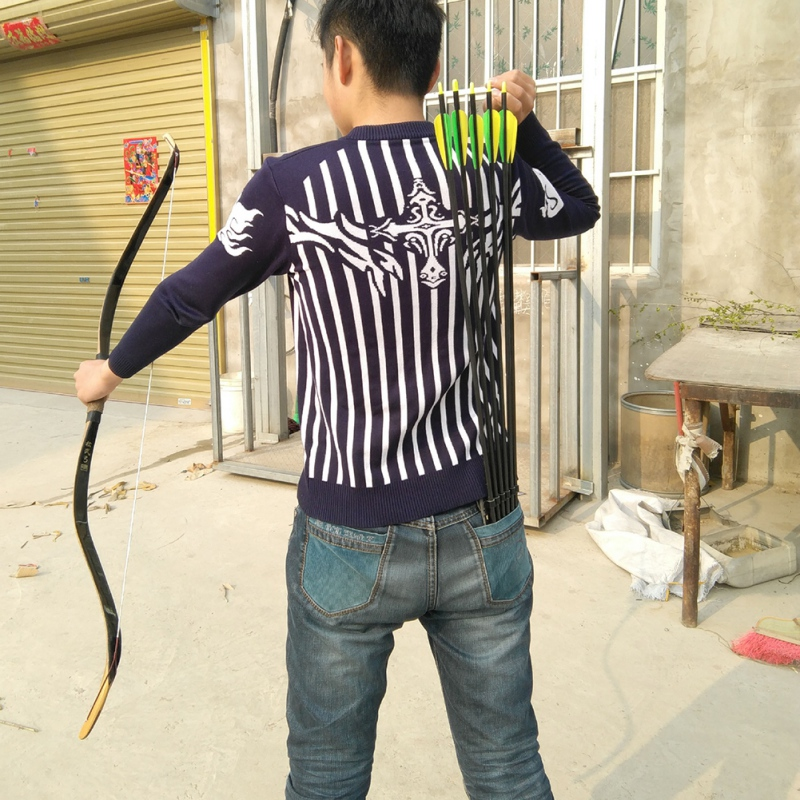 Arrow Quiver Pocket-Quiver-Holder Back-Pocket Archery-Shooting Hunting of for Pouch Loading