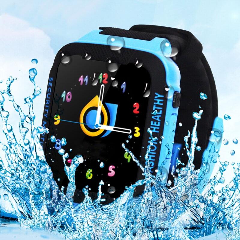 Espanson E3 Children GPS Smart Watch With Camera Facebook SOS Emergency Security Anti Lost wifi Bluetooth waterproof baby Watch