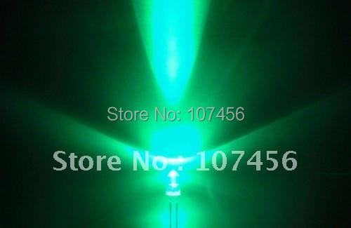 1000pcs lot free shipping 5mm flashing Green LED 10000mcd 5mm light emitting diode 5mm blinking green