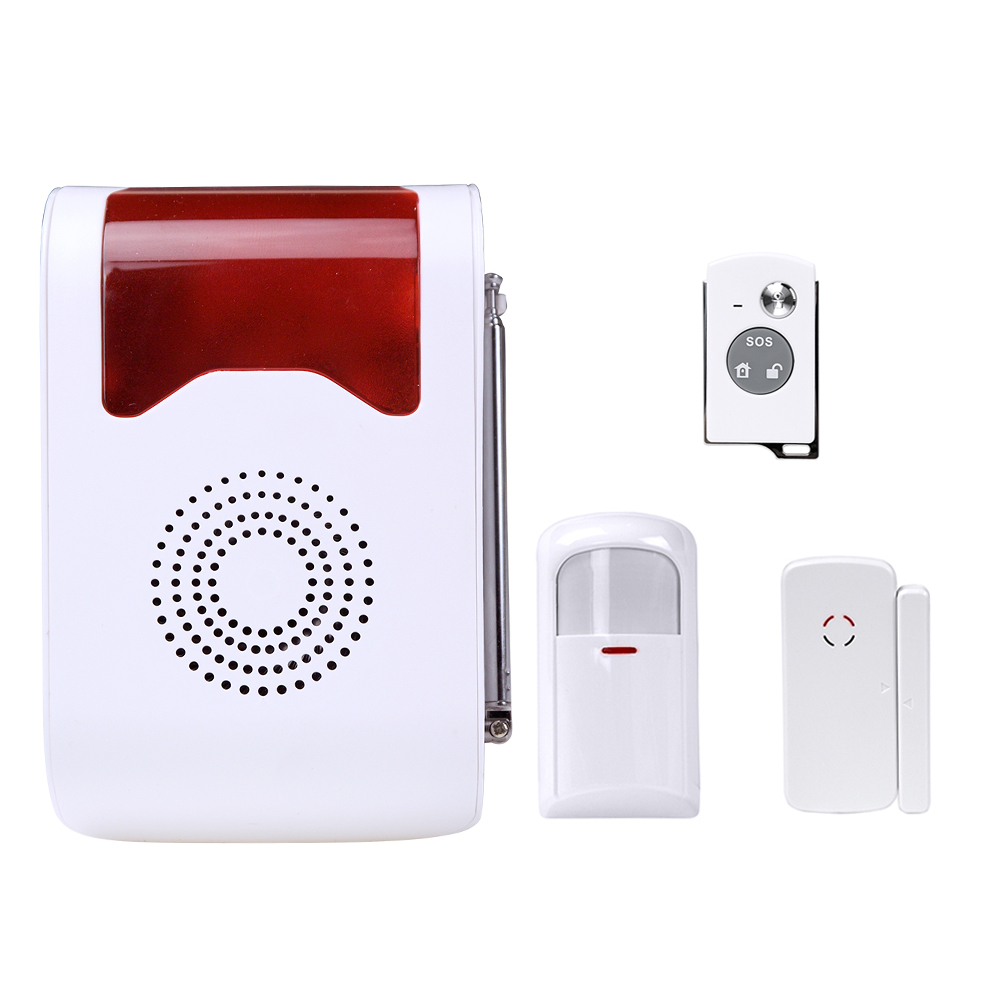 Wireless Voice acousto-optic Site Alarm Spot Detector PIR Sensor site forumklassika ru куплю баян юпитер