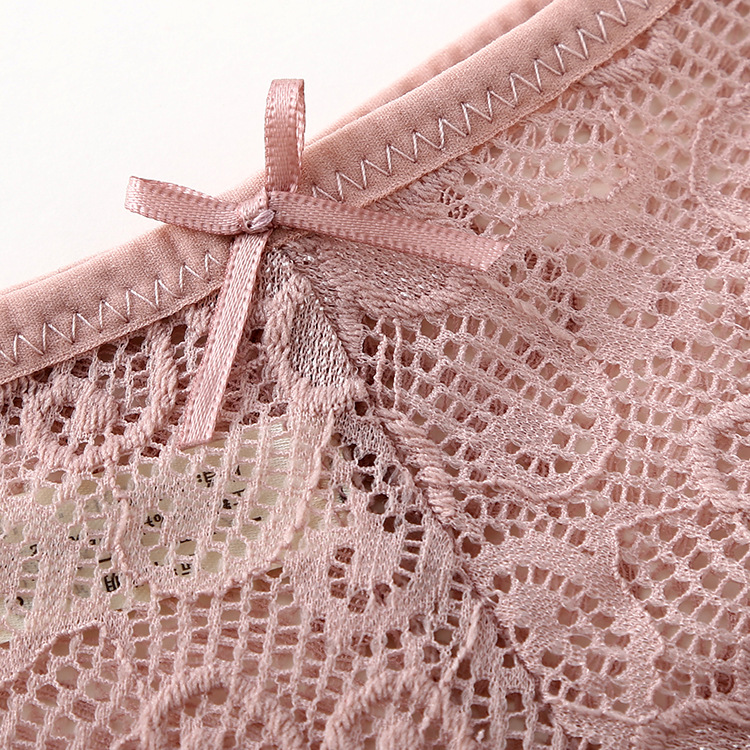 3pcs/lot, Sexy Lace Panties, Women's Fashion Cozy Lingerie, Tempting Pretty Briefs, Cotton Low Waist, Cute Women Underwear 26