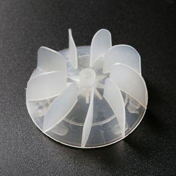 High-power Motor Fan Blade Hair Dryer Air Duct Accessories For Hair Salon Mar28 1pcs 4 blades plastic fan blade for hair dryer fan parts