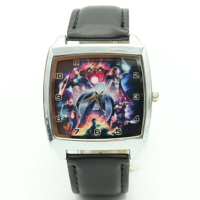 Free Shipping DC SUPER HEROES avengers Dawn of Justice WATCH Fashion Man Boy YBX