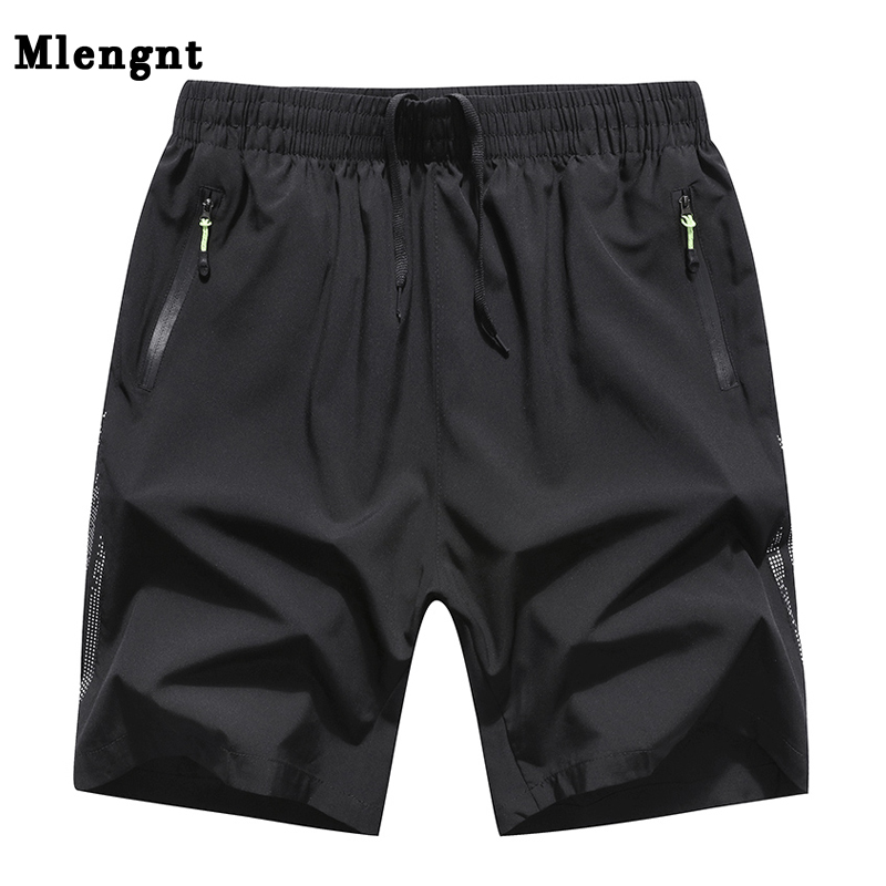 Plus Size L-8XL Male Quick Dry Thin Shorts Summer Big Size 2018 Men Casual Bermuda Fitness Baggy Short Beach Trousers For Mens