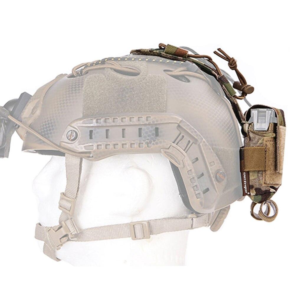 Emerson MK2 Helmet Accessory Pouch Storage Retention Counterbalance Battery Case