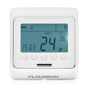 Floureon LCD Display Temperature Controller 16A Weekly Thermostat Anti-freezing