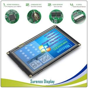 "Image 3 - 5.0"" NX8048K050 Nextion Enhanced HMI USART UART Serial Resistive Touch TFT LCD Module Display Panel for Arduino Raspberry Pi"