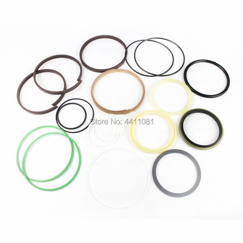 For Kobelco SK120-6 Bucket Cylinder Seal Repair Service Kit Excavator Oil Seals, 3 month warranty цена