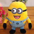 Free shipping creative plush toys animation Despicable Me 3D eyes despise your child's favorite stuffed toy birthday gift