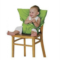 Brand Portable Baby Kids Chair Child High Chairs Seat Belts Safety Belt Folding Dining Feeding