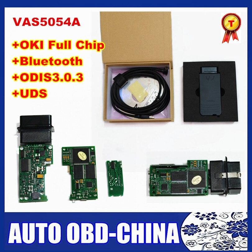 Prix pour Importés OKI Plein Puce VAS 5054A VAS5054A ODIS V3.0.3 Avec UDS Protocole VAS5054 Bluetooth Multi-langues VAS 5054