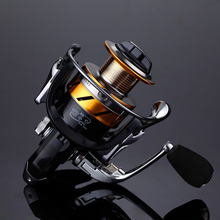 LIEYUWANG Fishing Spinning Reel AM 13+1 BB Fishing Carp Reel Exchangeable Handle Spining Reel For Bass Fishing