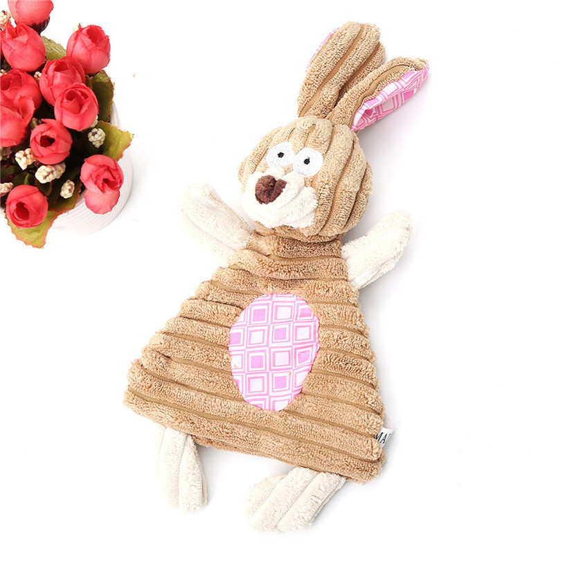 Cute Plush Pet Squeak Toys Animal Shape Sound Dog Toys For Small Large Dogs Cats Puppy Molar Chew Toys Wholesale #F#40AT29 (1)