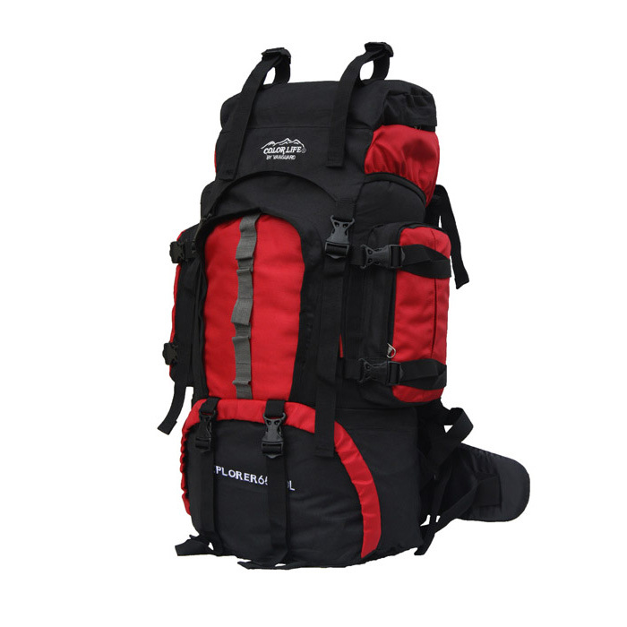 60L Outdoor Waterproof Travel Hiking Bag Cycling Bag Sports Bag Backpack A4843