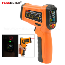 -50~800 Degree Non-Contact Infrared Thermometer Laser LCD Digital IR Thermometer Temperature Meter Gun Temperature Instruments non contact ir infrared thermometer lcd digital 4 buttons handheld temperature meter measuring gun laser 50 1050 degree