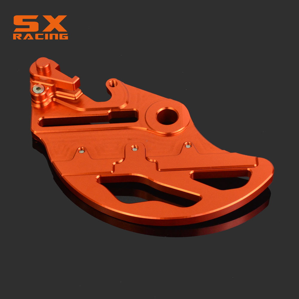 Guard Rear Brake Disc Rotor Protector Cover For KTM EXC EXCF XC XCF XCW XCFW MX EGS SX SXF SXS SMR 125-530 Drit Bike Motorcycle front brake disc rotor for ktm 380 exc 1998 1999 2000 2001 2002 sx mxc 1998 2001 400 egs exc g xc w 2007 2008 2009 07 08 09