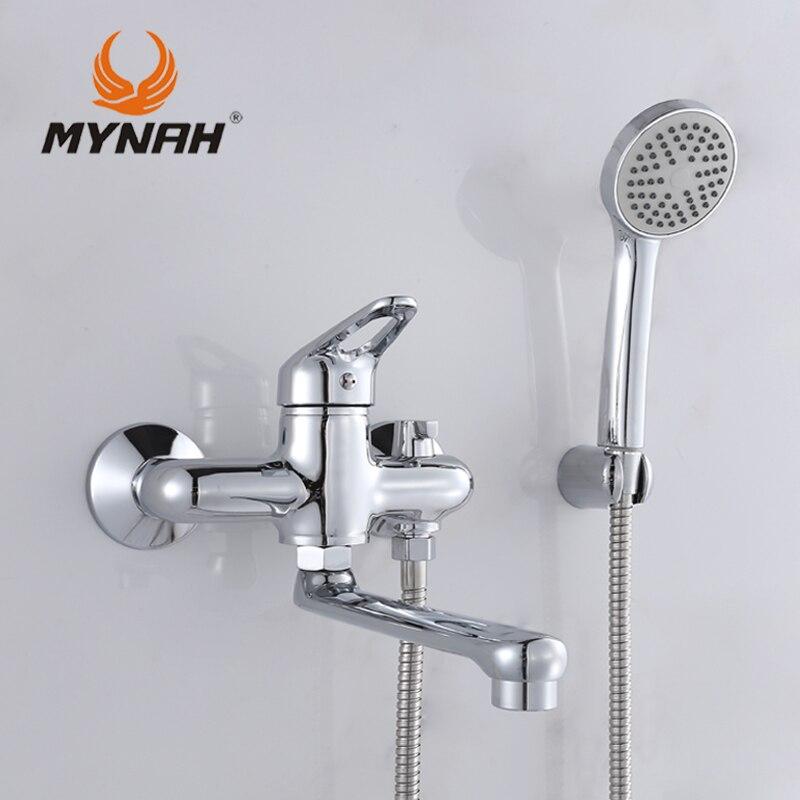 MYNAH Russland Kostenloser Versand Badezimmer Dusche Wasserhahn Bad ...