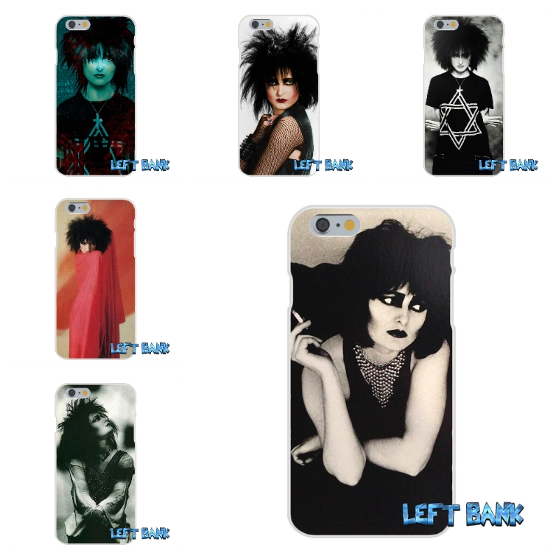 Siouxsie Sioux The Banshees Soft Silicone TPU Transparent Cover Case For iPhone 4 4S 5 5S 5C SE 6 6S 7 Plus