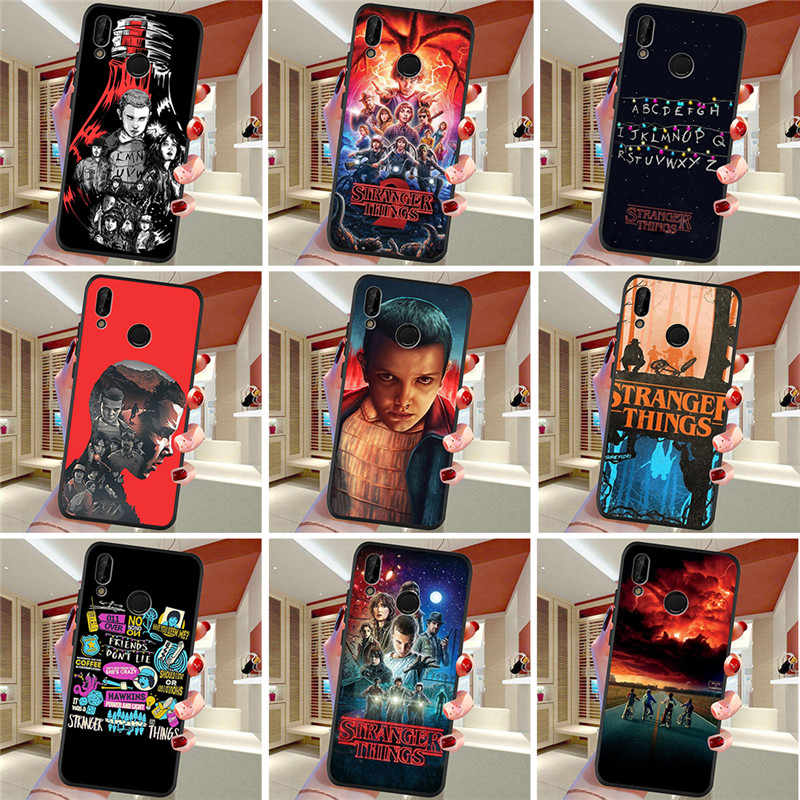 Stranger Things For Huawei P8 P10 P20 P30 Mate 10 20 Honor 8 8X 8C 9 V20 20i 10 Lite Plus Pro Case Cover Coque Etui Funda Capa