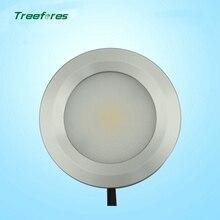 Treefores 6 pcs 3 w 110 v 240 v 미니 통 램프 드라이브 needless 캐비닛 빛 표면 탑재 쇼케이스 led 램프