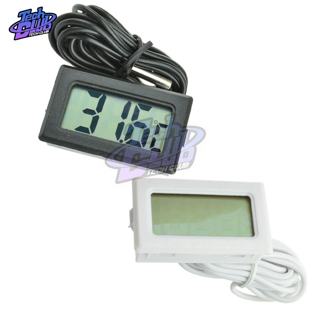TPM-10 LED Digital Thermostat Temperature Controller Thermometer Temperature Control Meter Weather Station 2M NTC Sensor