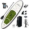 Надувная доска для серфинга с веслом  Sup-Board  набор для серфинга  10'x30''x4'' с рюкзаком  поводком  насосом  водонепроницаемой сумкой