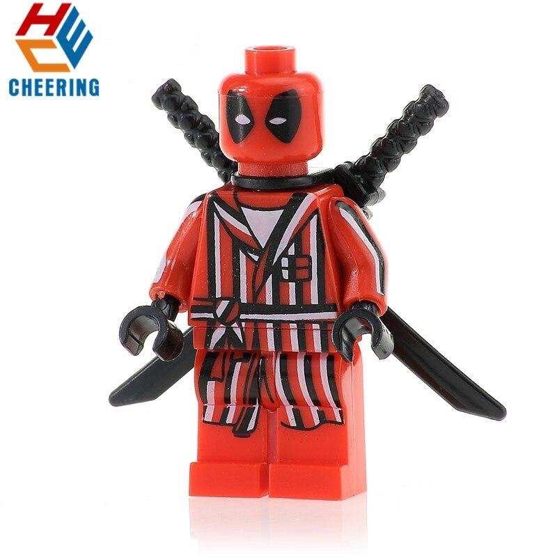 Model Building Hospitable 20pcs Wholesales Super Heroes Building Blocks Spiderman Bathrobes Deadpool Gift Dormammu Bricks Figures For Children Toys Pg351 Relieving Heat And Sunstroke