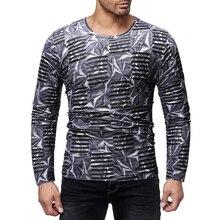 MarKyi 2019 fashon hollow long sleeve t-shirts men good quality o-neck hip hop camizas hombre tshirt dj