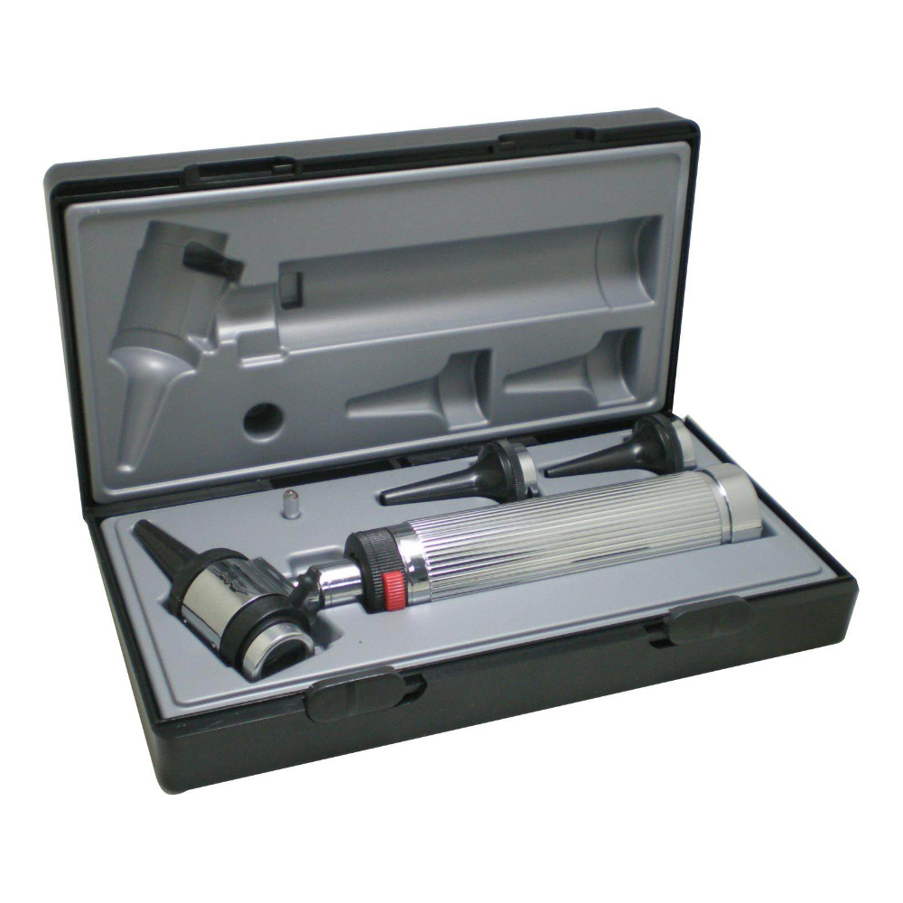 Professional use Diagnositc Otoscopio Medical Ear Otoscope with Halogen Light 1set