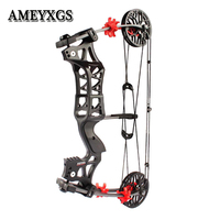 1set Archery Compound Bow 30 60lbs M109E Steel Ball Catapult Dual use Hunting Bow Outdoor Shooting Accessories