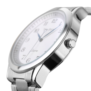 Image 5 - Quartz saat erkekler çelik su geçirmez saat yönünün tersine ters ölçekli yağ kabartma arama bilezik izle moda erkekler İzle erkek saat