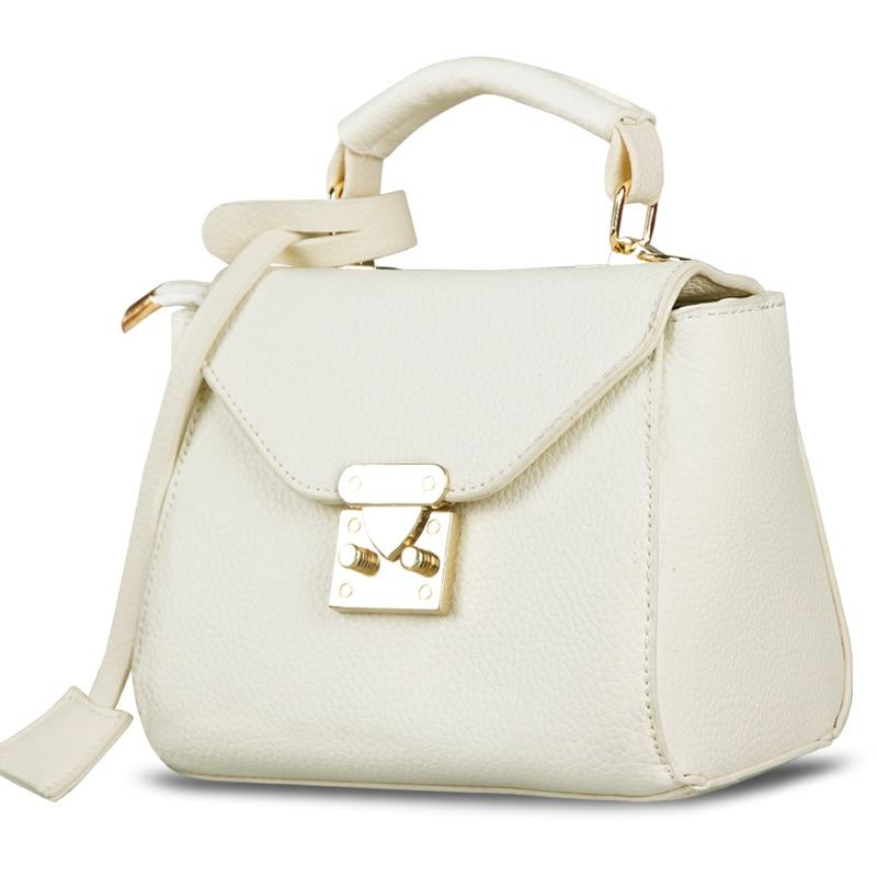 Small Solid Last Handbags