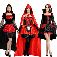 Halloween Costume Angel Clothing Horror Adult Women Cosplay Costume Wizard Ghost Vampire Clothes Sets Fancy Dress