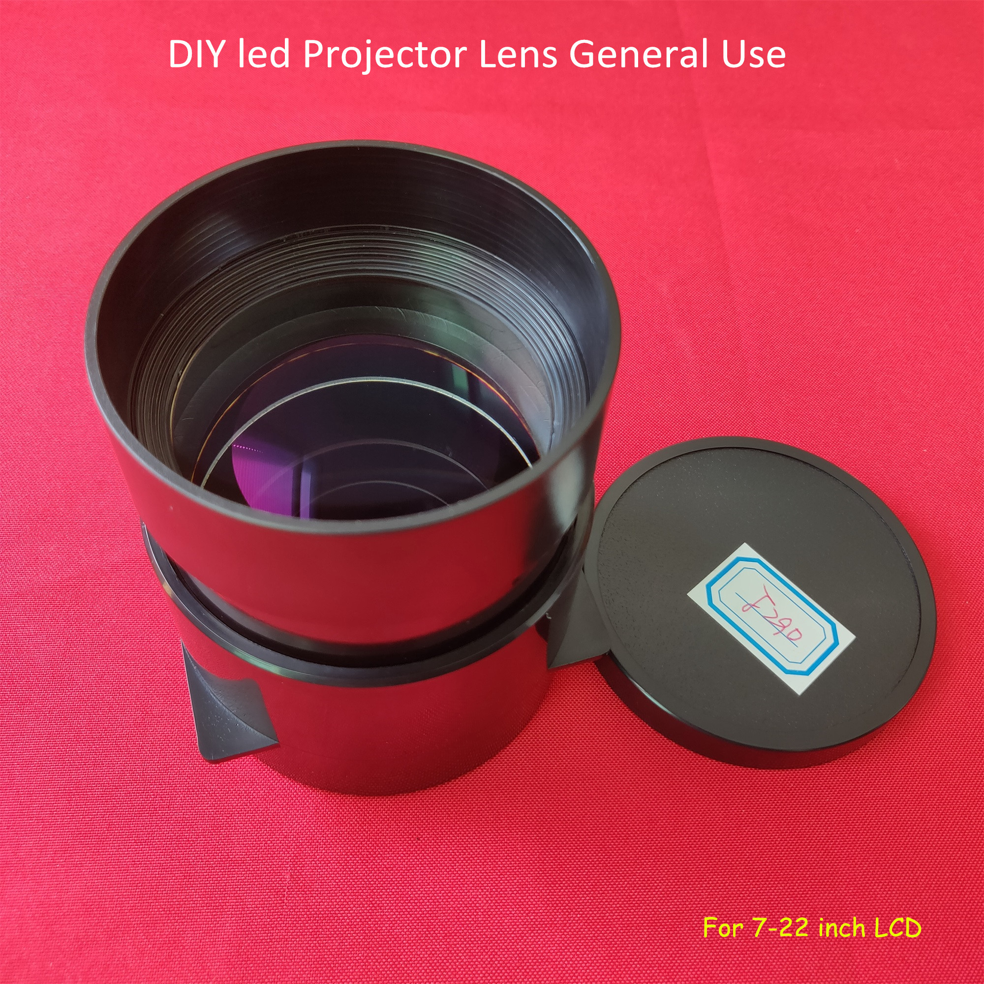 Uso generale F290 proiettore FAI DA TE obiettivo di vetro per 7/7. 6/8/8. 9/9. 7/22 pollici proiettore/proiezione fai da te obiettivo di vetro home cinemaUso generale F290 proiettore FAI DA TE obiettivo di vetro per 7/7. 6/8/8. 9/9. 7/22 pollici proiettore/proiezione fai da te obiettivo di vetro home cinema