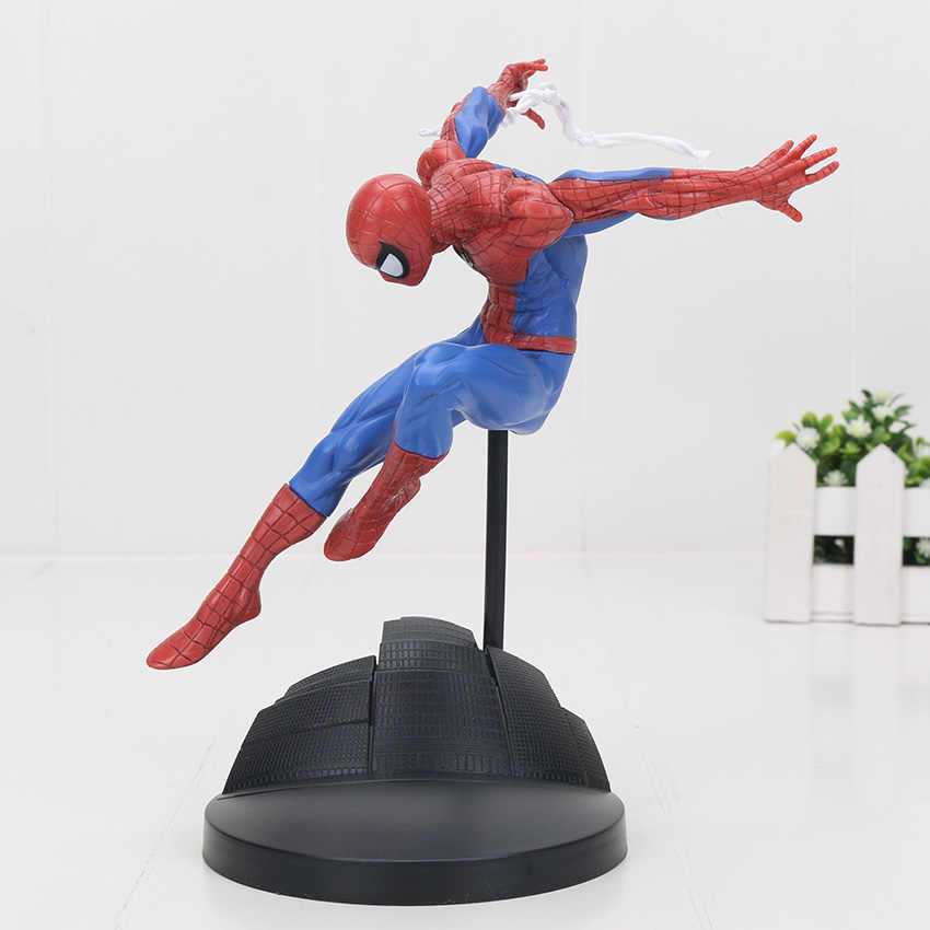 Ironman Super Heroes avenger figures superhero spiderman Creator X Creator  spider man Iron Man Statue PVC Figure Collection Toys