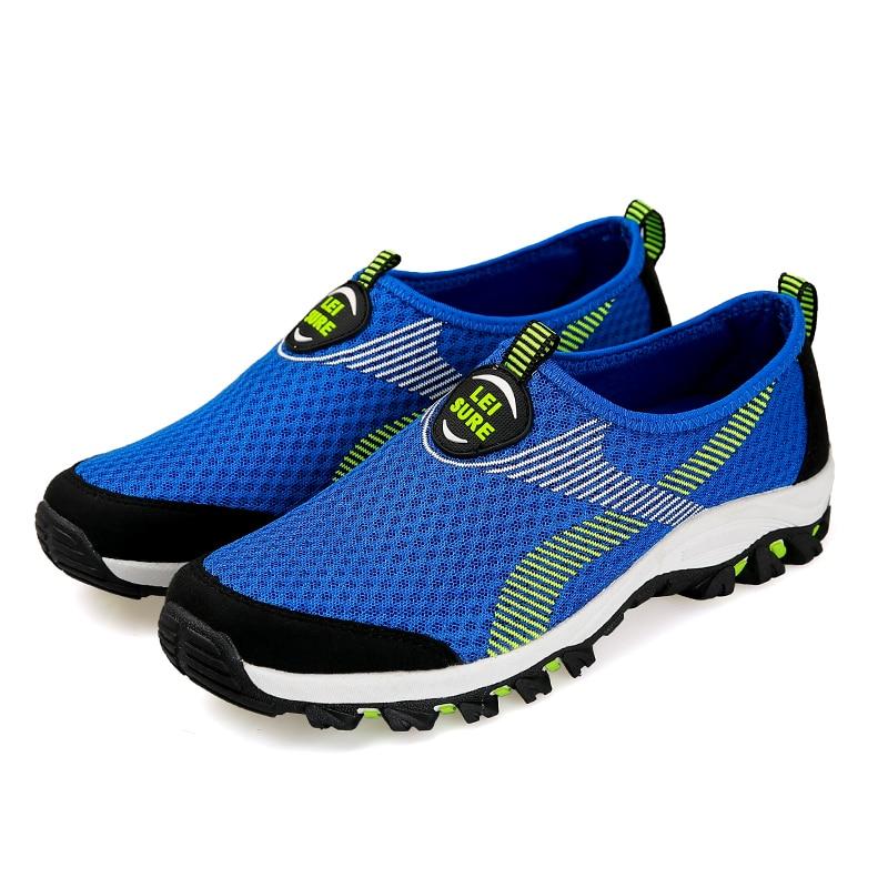 ad9762678fd67 Nouvelles Chaussures de Course Sneakers pour Hommes Sport Pas Cher Baskets  D origine Marque Homme Respirant Mesh (Maillage de L air) large (C