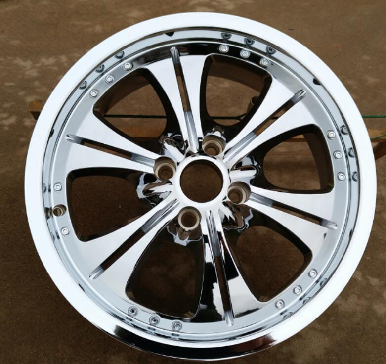 Llantas de aleación de coche para Peugeot 7,0, llantas de 17 pulgadas, cromadas, 17x108, 4x301