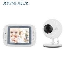 цены на JUNEJOUR Wireless Video Baby Monitor Night Vision Camera Video 3.5inch LCD Sreen Baby Sleep Monitor Baby Camera Music 2-Way Talk  в интернет-магазинах