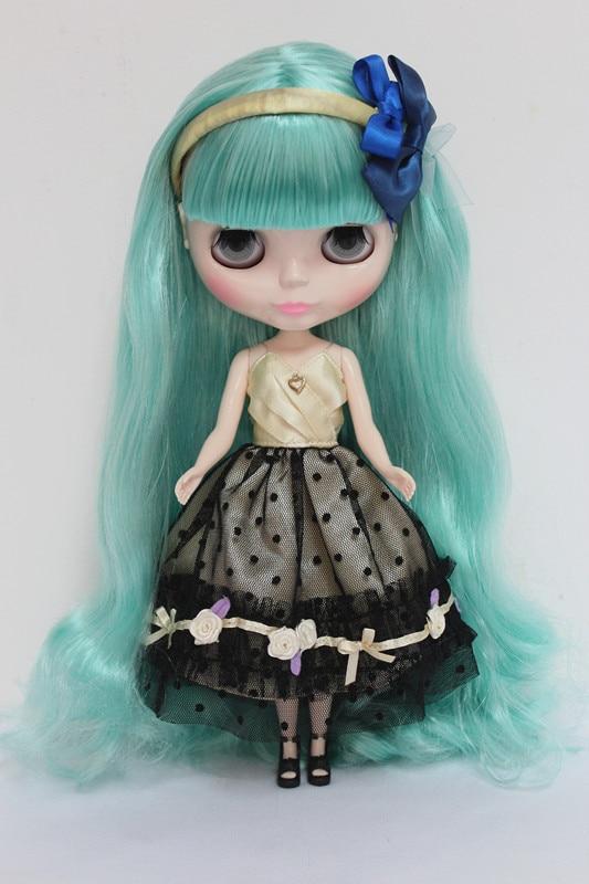 ФОТО Free Shipping cheap RBL9-12  DIY Nude Blyth doll birthday gift for girls 4 colour big eyes dolls with beautiful Hair cute toy