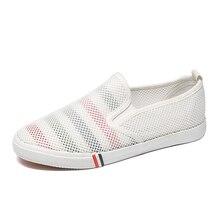 bf75c25d984e8 Primavera 2018 novos Coreano sapatos de lona feminino-fundo plano pequenos  sapatos brancos com um