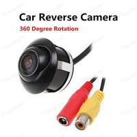Freeshipping Night Vision CCD Car Rear Front View Camera Upgrade Section Parking Camera With 360 Degree