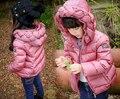 Nova Moda Crianças Meninas Jaqueta de Inverno Para Baixo Casaco Menina Da Roupa Do Bebê Outerwear Parka Doudoune Fillette Adolescente Infantil Crianças
