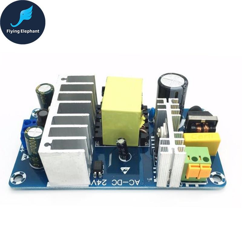 AC85-265V To DC24V DC12V Switching Power Supply Board AC-DC Power Module 24V 4-6A 6-8A 100W 24v switching power supply board 4a 6a power supply module bare board
