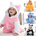 Spring Autumn cute Baby Clothes Flannel Baby Boy Clothes Cartoon Animal Jumpsuit Baby Girl Rompers Baby Clothing