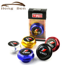 HB Racing Anodizing Aluminum Oil Tank Cap Cover Toyot TRD Forged Billet Oil Cap